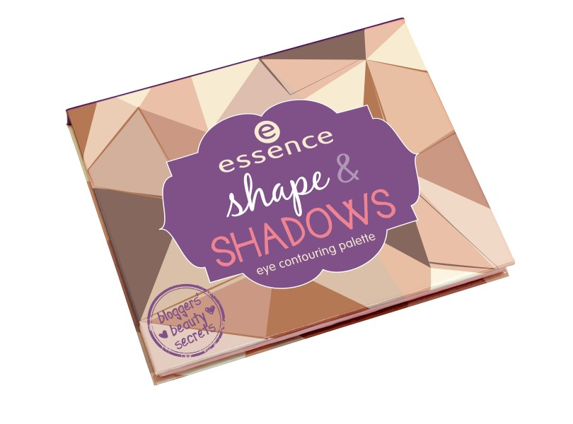essence bloggers' beauty secrets shape & shadows eye contouring palette
