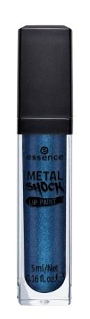 essence metal shock lip paint 01