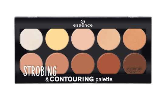 essence strobing & contouring palette 10