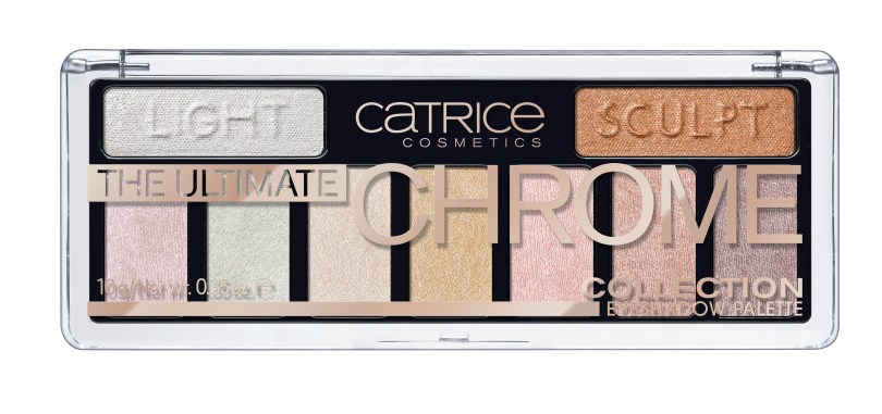 Catrice The Ultimate Chrome Collection Eyeshadow Palette 010