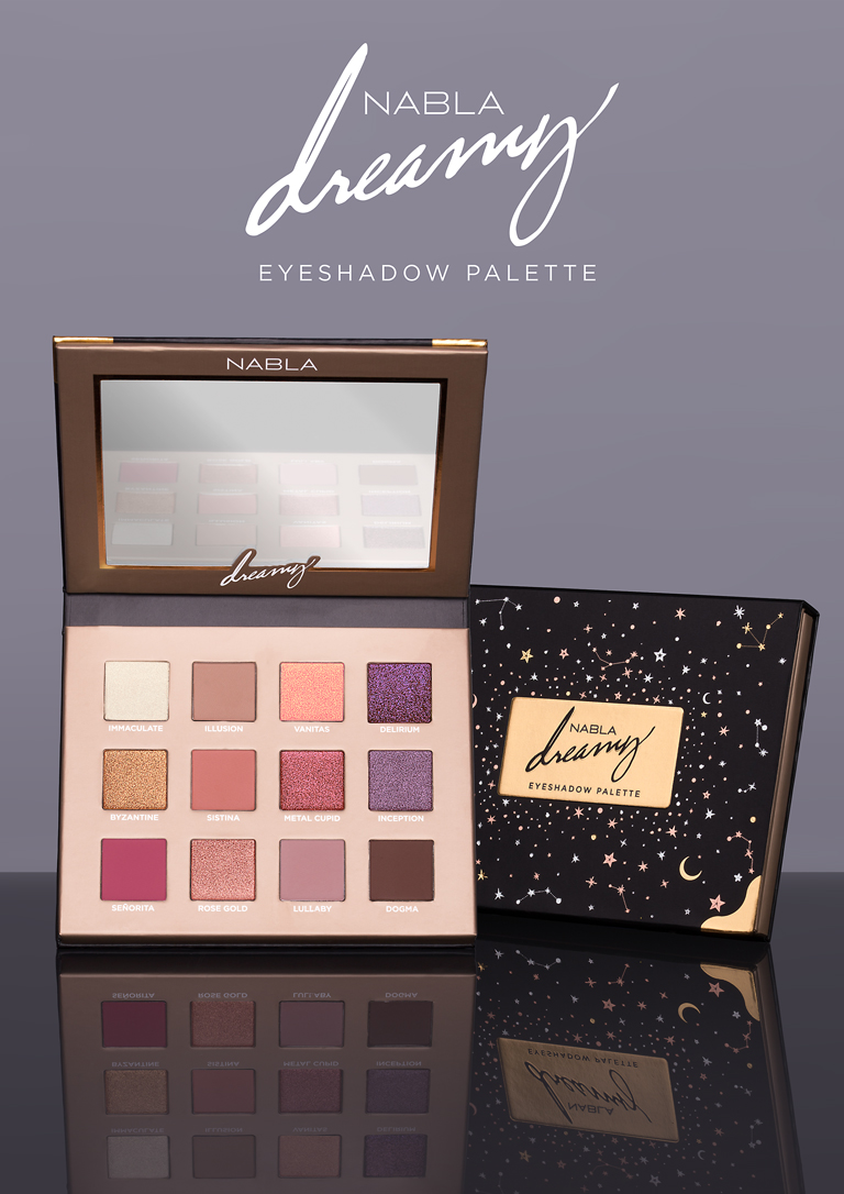 Dreamy Eyeshadow Palette ~ NABLA COSMETICS