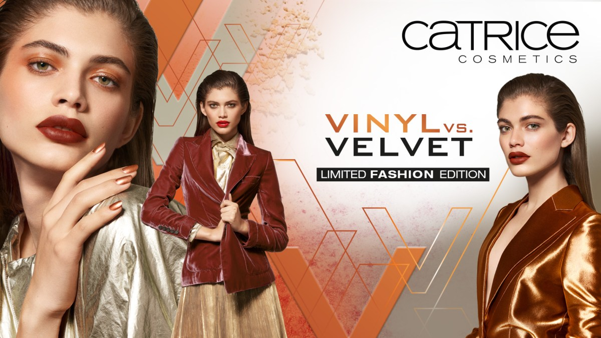 VINYL vs.VELVET Limit edition ~ Catrice Cosmetics