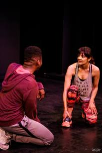 """Initial Velocity"" at The Hudson Theatres in Los Angeles, CA. 2Cent Theatre's 6th Annual Acting Out INK Fest in March, 2019."