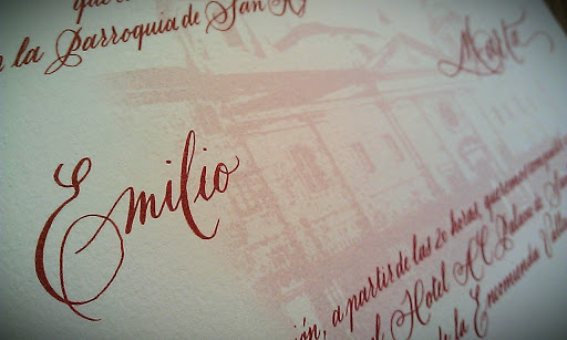 Invitación Emilio y Marta - tripas
