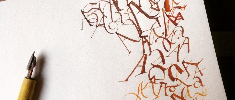 Aes caligrafiadas