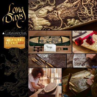 Logo Long Days Long Boards. Edición Limitada. Oriental Obsession.