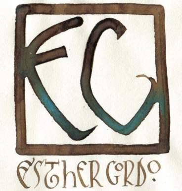 Logotipo Esther Gordo.
