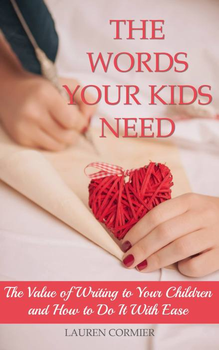 Creative Gift Ideas for Moms in Ministry: The Words Your Kids Need