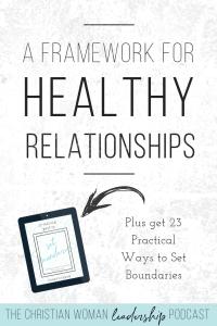 healthy relationships, relationships, leaders, leadership