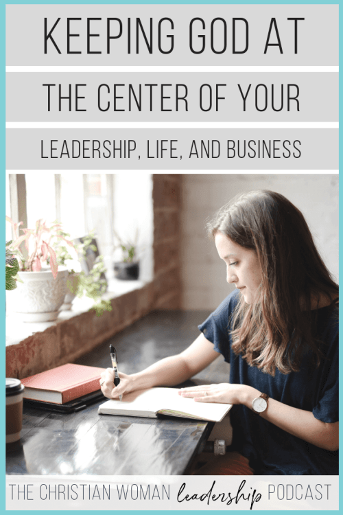 keeping god at the center of your business