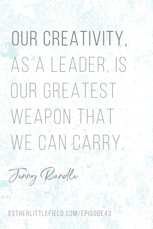 creativity, leadership, creativity as a leader