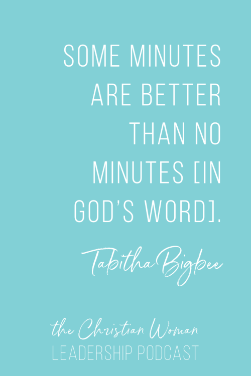 How to Develop Discernment and Transform Your Faith with Tabitha Bigbee