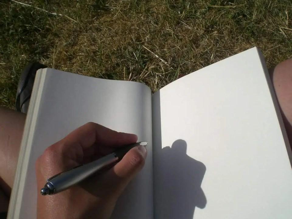 Escribiendo - cómo aprovechar los días en casa