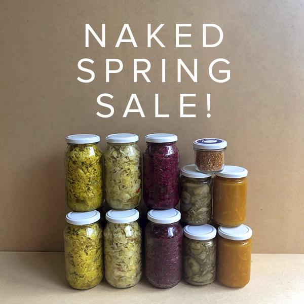 Naked Spring Sale!