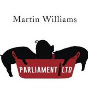 Esther Wane, a female British voice artist, narrates Parliament LTD Audibook by Martin Williams