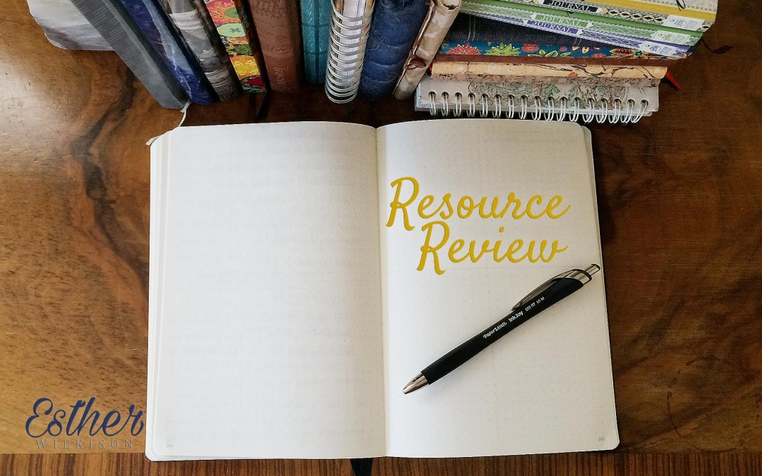 Weekend Resource Review: Favorite Journaling Tools