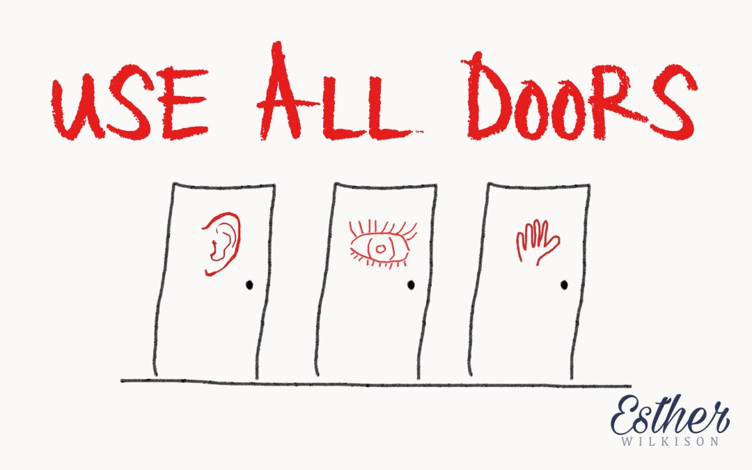 Use ALL Doors: Reach ALL Learning Styles