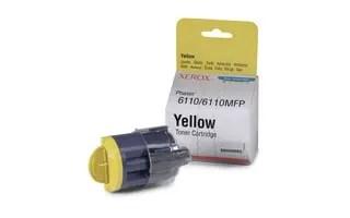 106R01204 toner yellow, 1000p for Phaser 6110 /Phaser 6110MFP