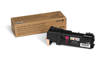 high capacity magenta toner, 2500p for Phaser 6500/WorkCentre 6505