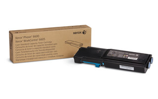 standard capacity toner cyan, 2000p for Phaser 6600, WorkCentre 6605