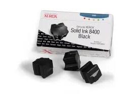 108R00604 solid ink black, 3 sticks, 3400p for Phaser 8400