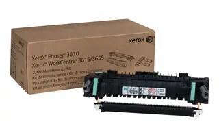 115R00085 Maintenance Kit 220V (Includes Fuser, Transfer Unit) for WorkCentre 3655