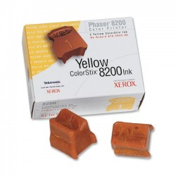 16204300 solid ink yellow, 2 sticks, 2800p for Phaser 8200