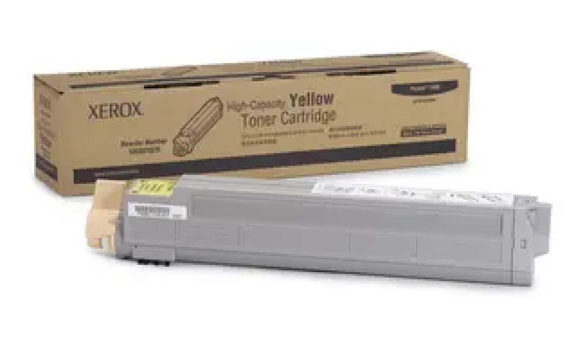106R01079 Toner capacitate mare yellow pentru Phaser 7400
