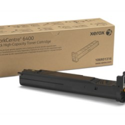 106R01316 Toner capacitate mare black pentru WorkCentre 6400