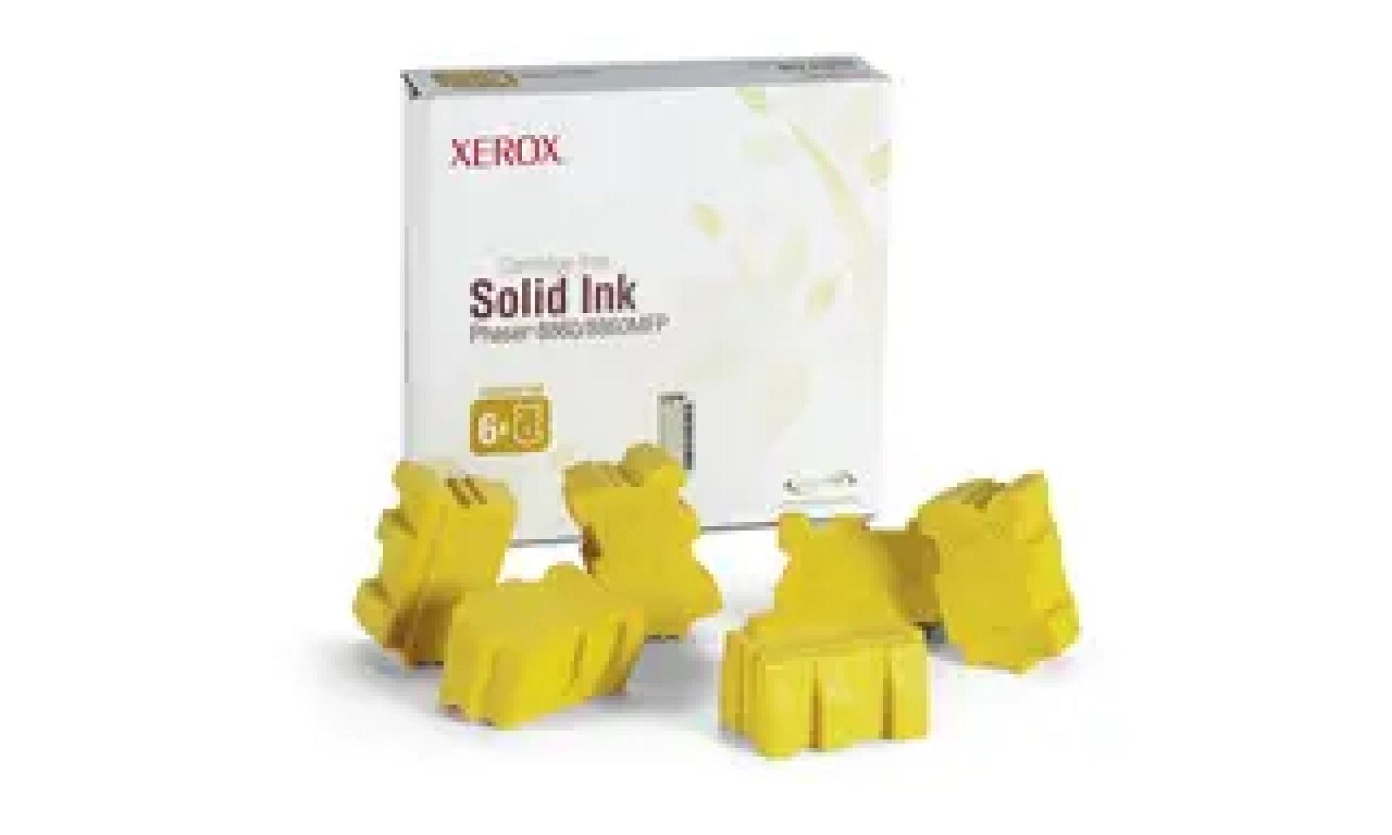 108R00819 Cerneala solida yellow pentru Phaser 8860