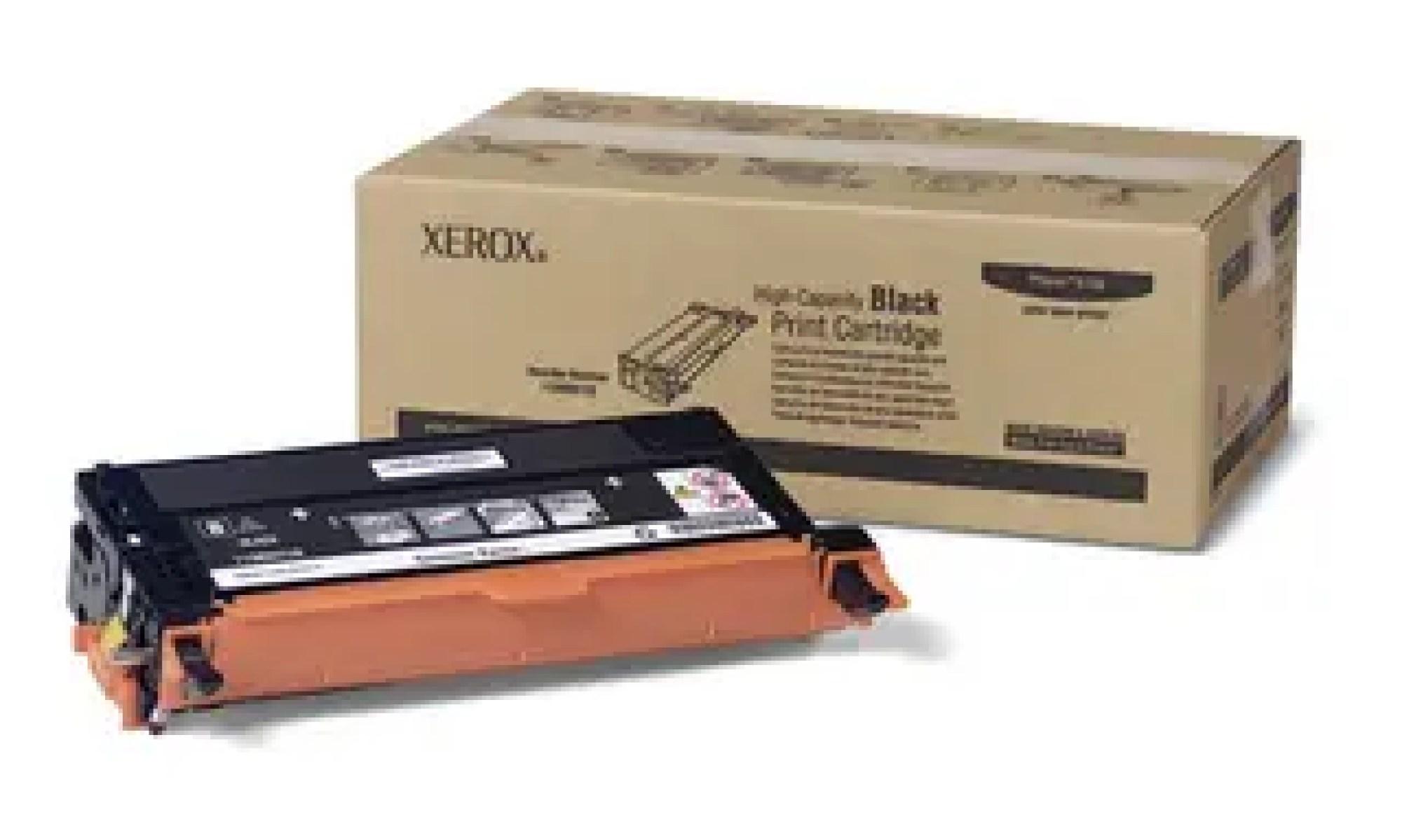 113R00726 Toner capacitate mare black pentru Phaser 6180, 6180MFP