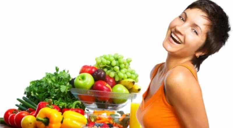 Рацион правильного питания для женщин