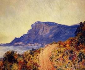 'Red Road at Cap Martin, near Menton', 1884, Claude Monet