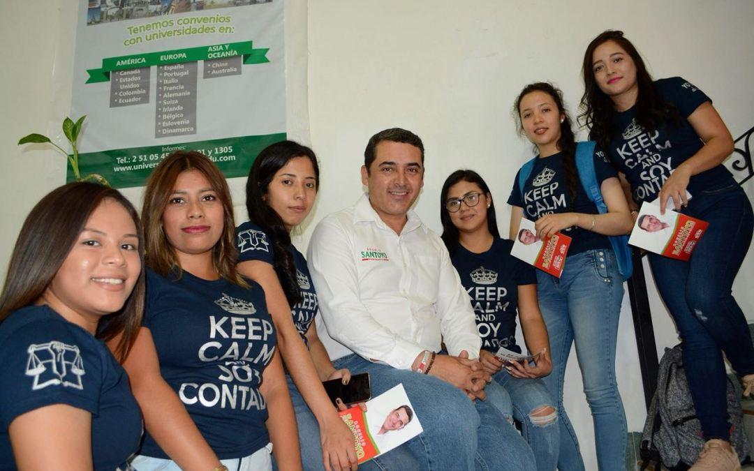 Plantea Santoyo crear cartera de trabajo para la juventud silaoense