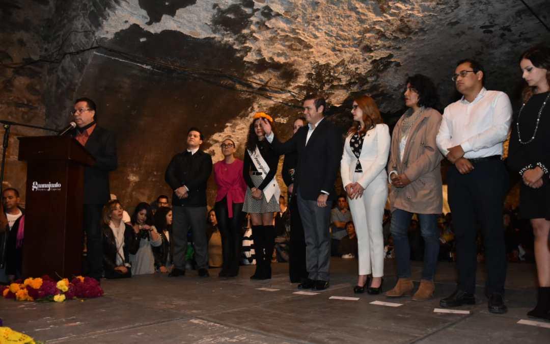 Inaugura Navarro primer Festival de Muertos en la Subterránea