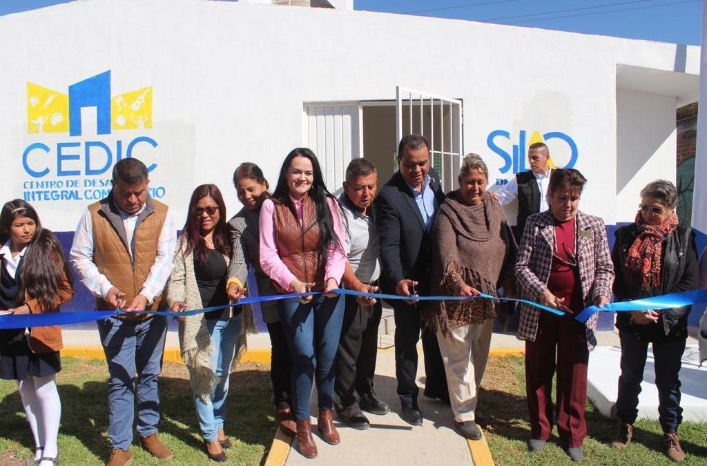 Estrenan Centro de Desarrollo Comunitario en Refugio de los Sauces
