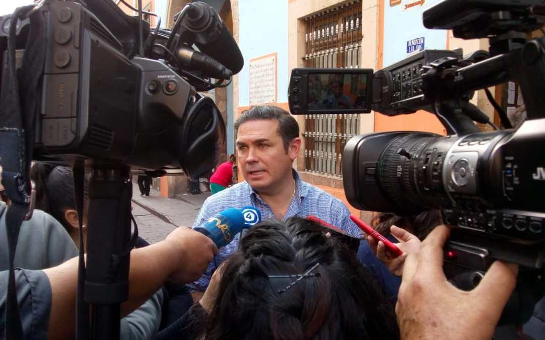 Lamenta Navarro que Guanajuato Capital haya quedado fuera del FORTASEG 2019