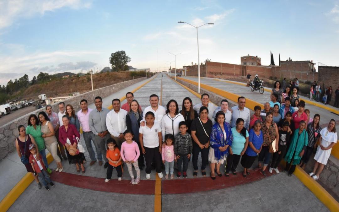 Con una inversión por más de $15 MDP, Navarro inaugura 3 grandes obras en la zona sur de la Capital