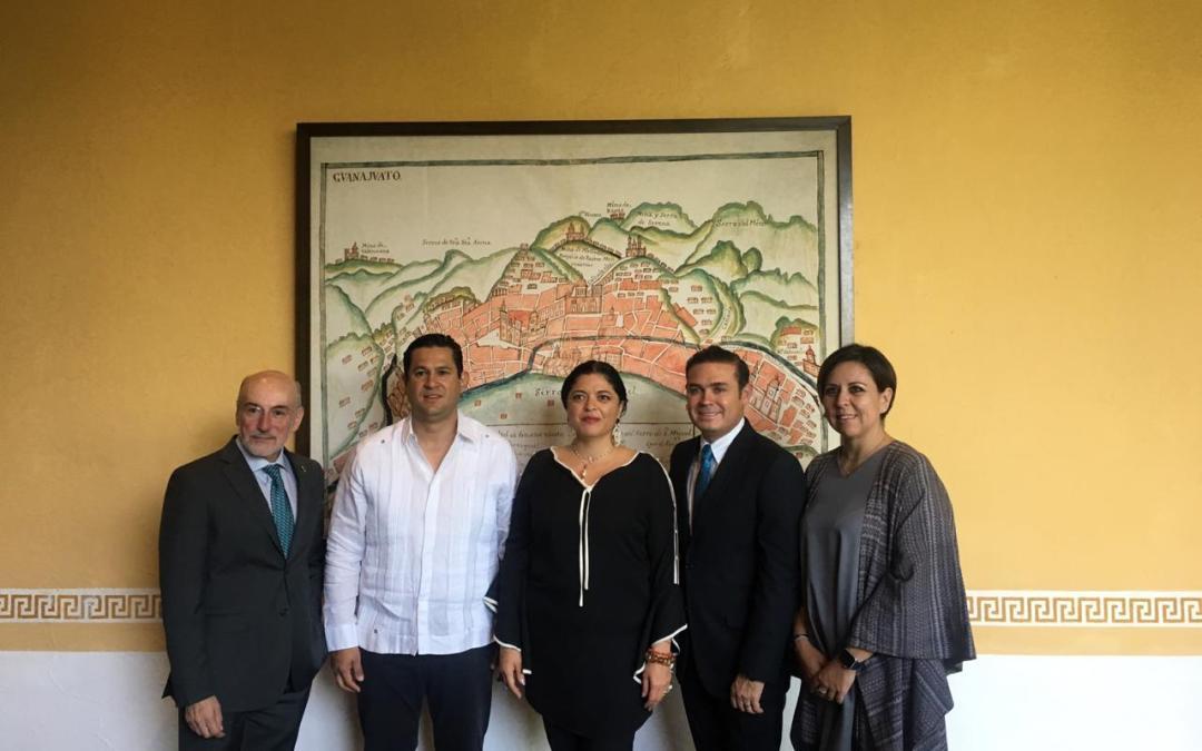 ¡Ya viene el #Cervantino!: Navarro asiste a la primera reunióndel Comité Organizador