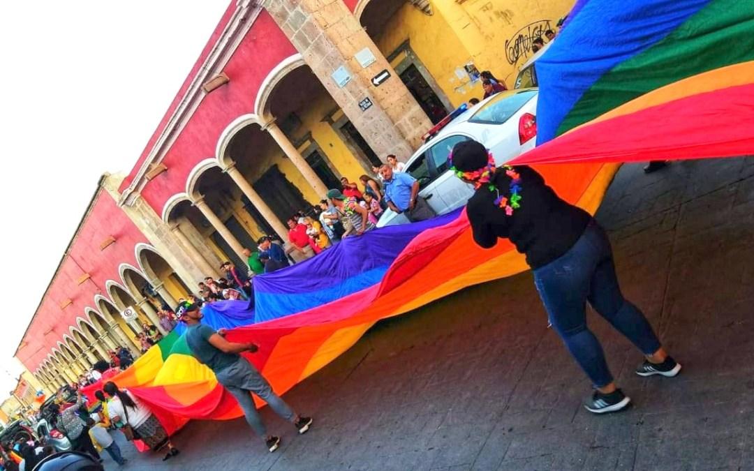 Celebró Silao su marcha del #OrgulloGay