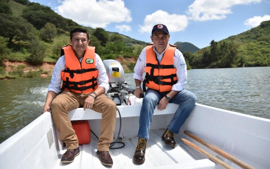 Supervisa Navarro presas abastecedoras