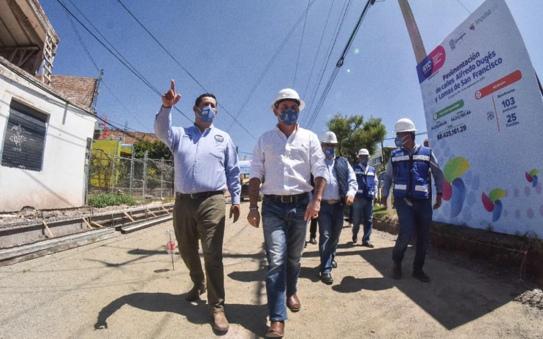 Asegura Diego que Guanajuato no está solo; van $200 MDP a obra y desarrollo social