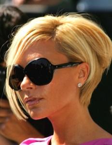"""Victoria Beckham: Los británicos han rebautizado el look de Victoria como """"pob"""", una contracción entre """"bob"""" y """"Posh"""", el pseudónimo de la ex Spice Girl."""