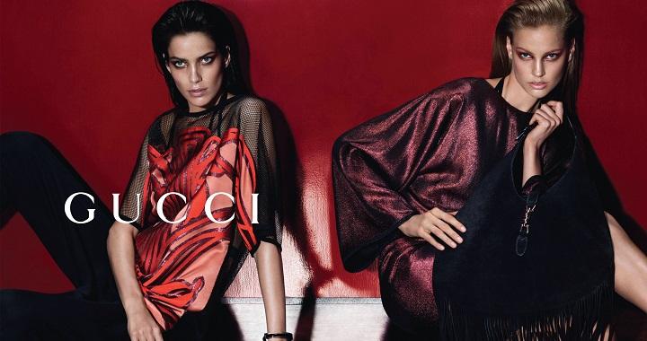 Campaña Gucci primavera-verano 2014