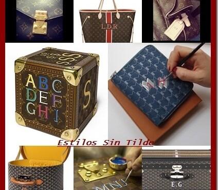Imprime tus iniciales en tus complementos, nueva tendencia de moda