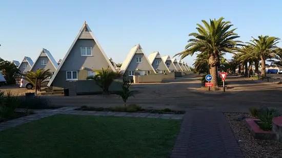 Chalets at Swakopmund Municipal Rest Camp _ Photo by Janine C