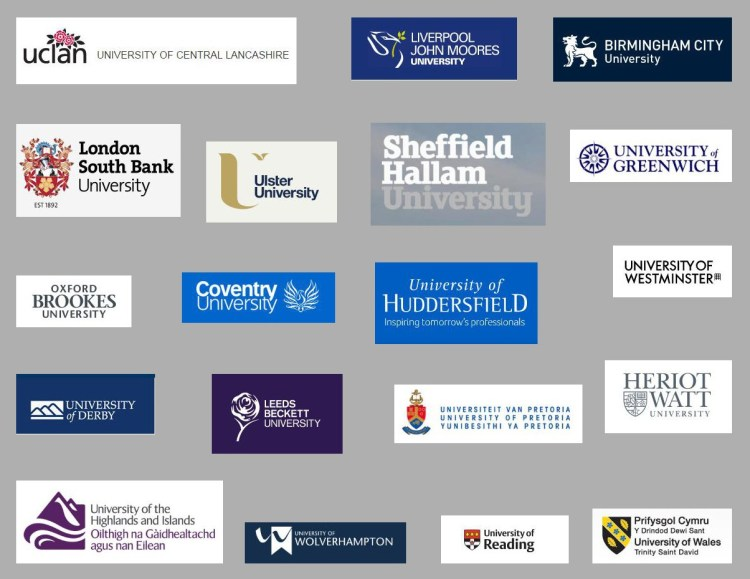 UK Universities with BIM in Quantity Surveying Course