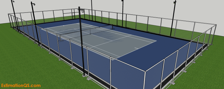 Cost Of Building A Tennis Court Concrete Acrylic
