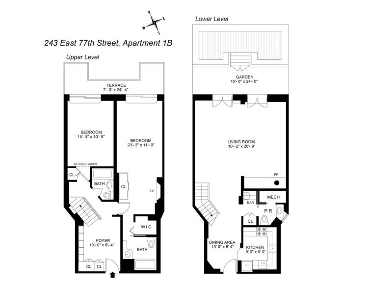 2 Bedroom Cooperative For Sale in 243 East 77th Street_1B-Upper East Side_New York_USA