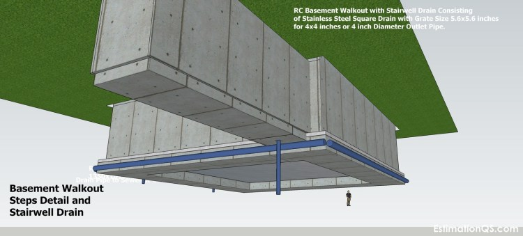 Basement Walkout Steps Detail_13 CUT